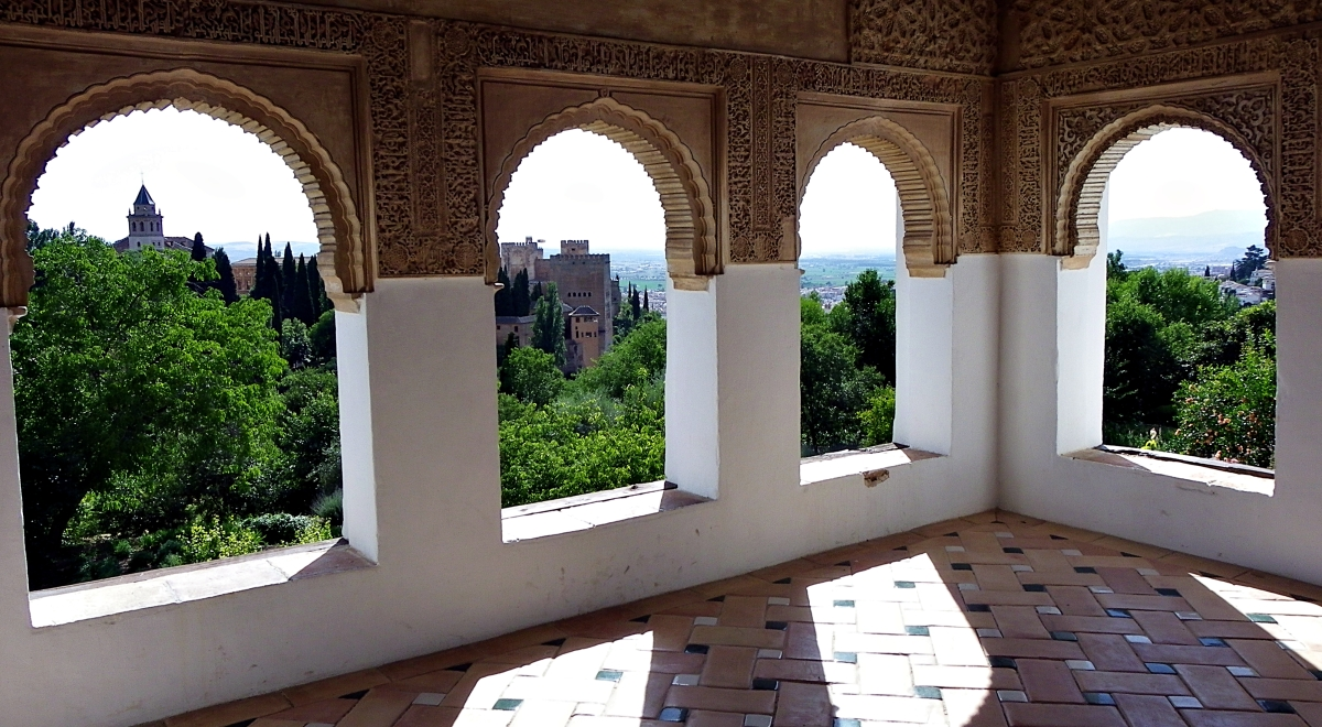 La Alhambra vista desde el Generalife