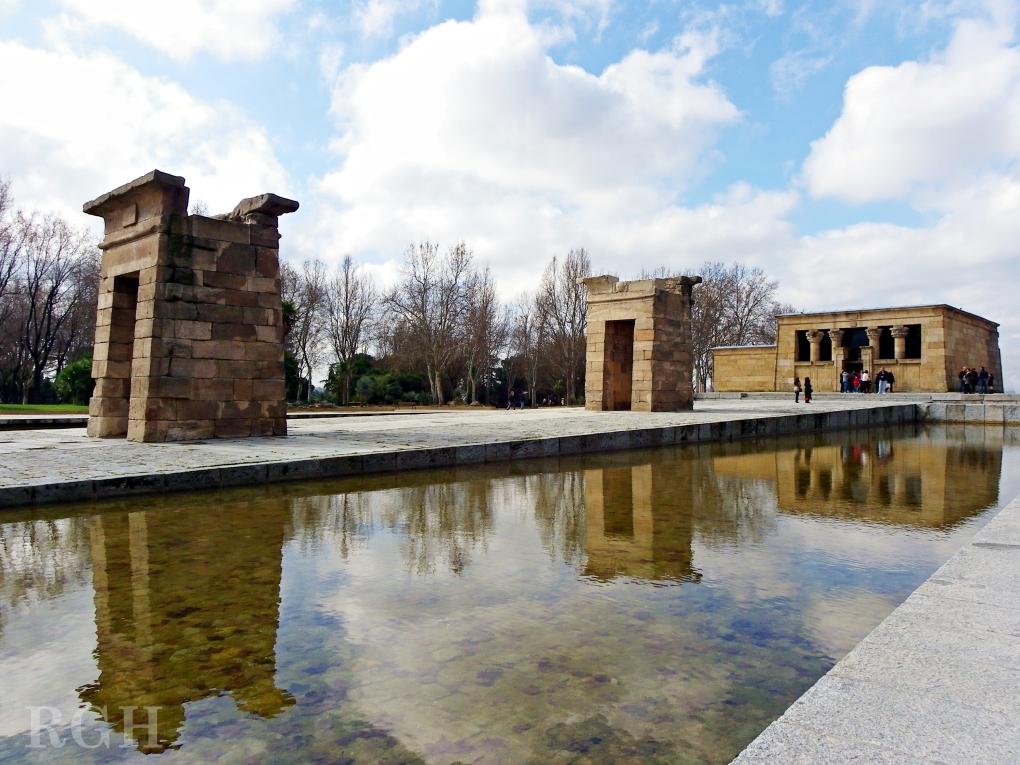 Templo de Debod. Parque del Oeste, Madrid.