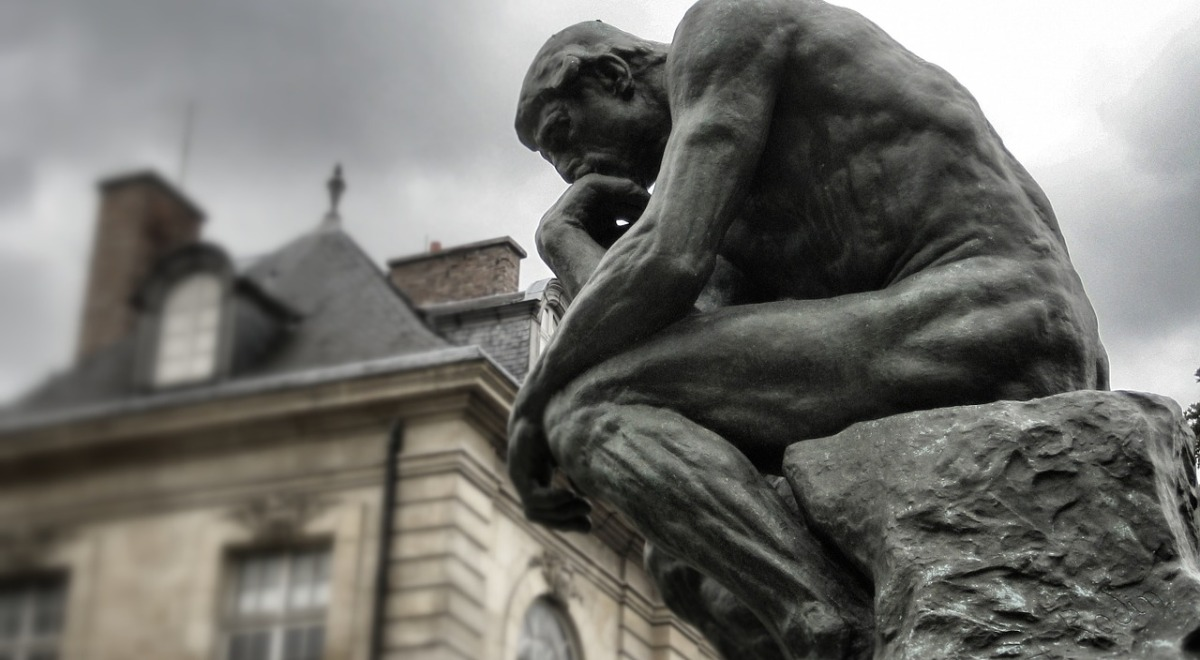 El Pensador de Auguste Rodin (1881-1882)