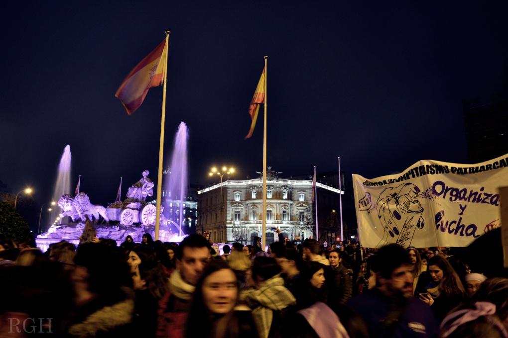 Manifestación 8 marzo 2018 madrid