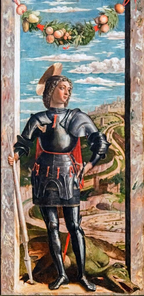 Accademia - San Giorgio di Andrea Mantegna Cat.588
