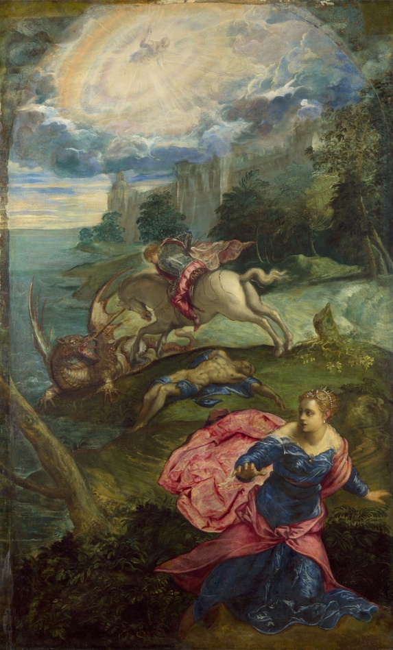 Jacopo_Tintoretto_-_Saint_George_and_the_Dragon_-_Google_Art_Project